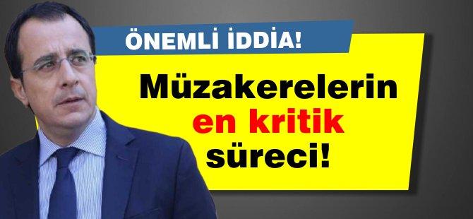 """Hristodulidis: """"Muhtemelen müzakereler tarihinde en kritik dönemden geçmekteyiz"""""""