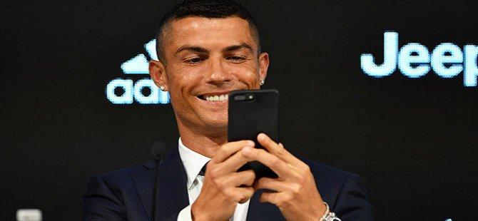Instagram'ın en çok kazanan sporcusu Cristiano Ronaldo