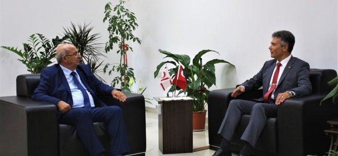 Özyiğit, Sivil Savunma Teşkilat Başkanı Karakoç'u kabul etti