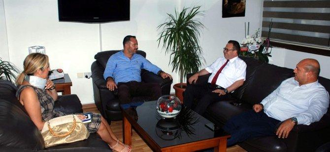 KTTO Yönetim Kurulu, KTAMS'ı ziyaret etti