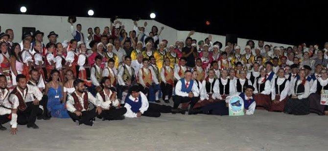 Beyarmudu Belediyesi 5.Uluslararası Halk Dansları Festivali Çayönü'nde Devam Etti