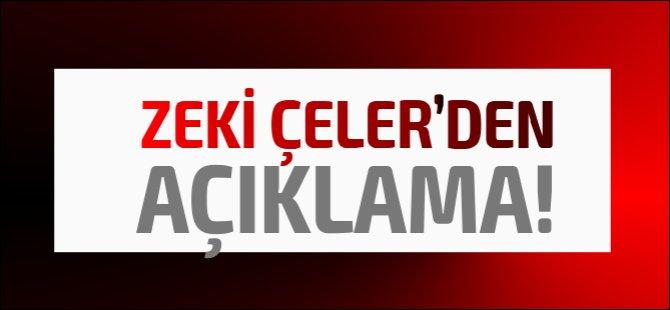 Son Dakika: Zeki Çeler'den çok sert açıklama, kimi topa tuttu?