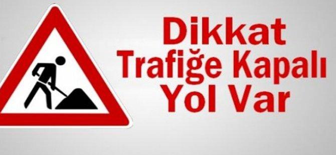 Girne Kurtuluş Caddesi'nin bir kısmı trafiğe kapatılacak