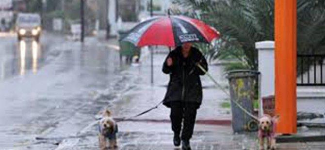 Hafta Sonu yer yer yağmur bekleniyor