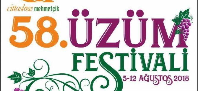 Mehmetçik Üzüm Festivali yarın akşam başlıyor