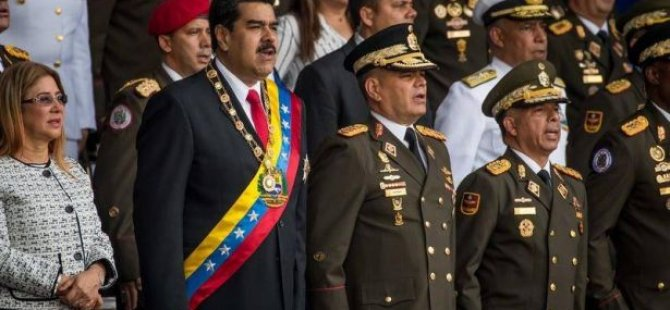 Maduro'ya canlı yayında suikast girişimi