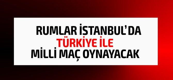 Kıbrıs Cumhuriyeti milli takımı İstanbul'da Türkiye ile maç oynayacak