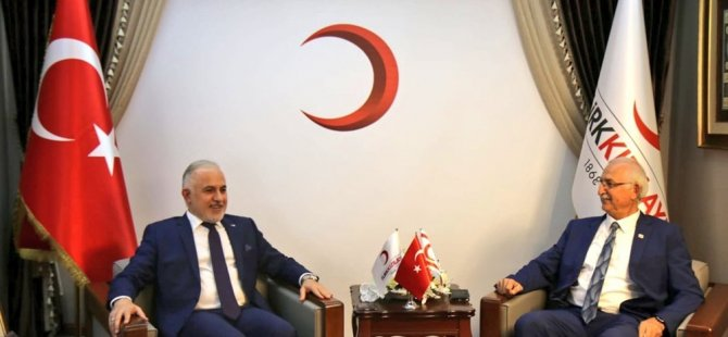Kuzey Kıbrıs Kızılayı ile Türk Kızılayı arasında işbirliği