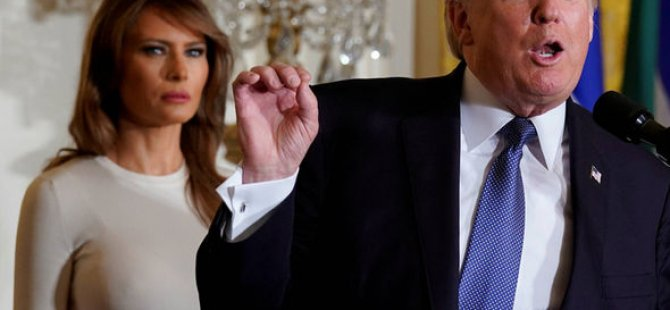 First Lady Trump'a karşı!