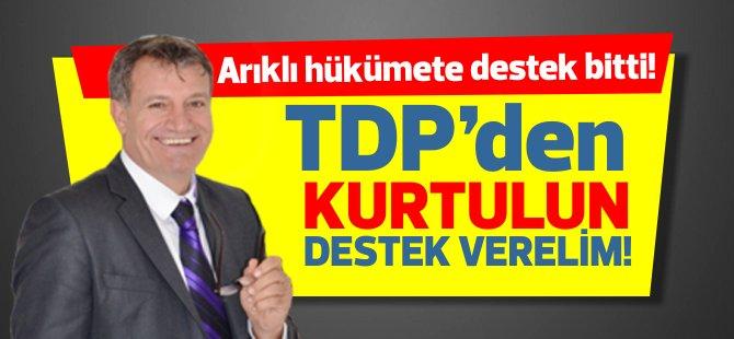 """YDP: """"Hükümete her türlü desteği kesiyoruz... TDP'den kurtulun, dışardan karşılıksız destek verelim"""""""