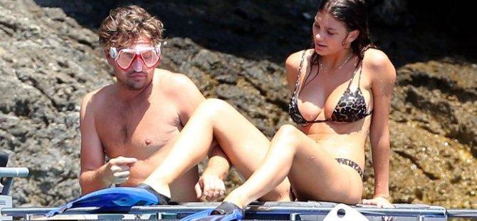 Leonardo DiCaprio ve Camila Morrone İtalya'da tatilde!