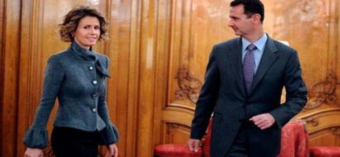 Beşar Esad'ın eşi Esma Esad'ın vücudunda kötü huylu tümör tespit edildi