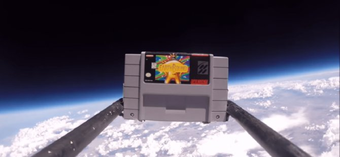 Hayranı olduğu oyunu uzaya çıkardı!