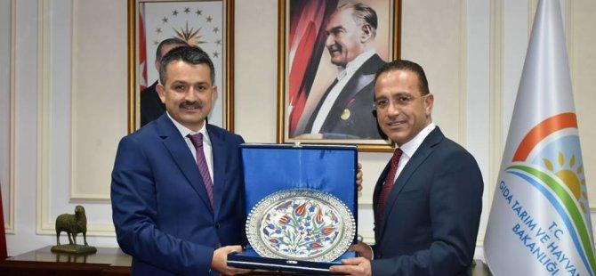 Bakan Şahali, TC Tarım Ve Orman Bakanı Pakdemirli ile görüştü