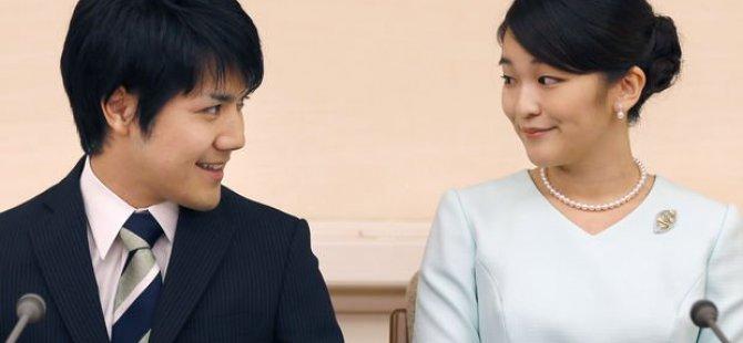 Ünvanından vazgeçen Japon prenses Mako'nun evliliği borç yüzünden ertelendi