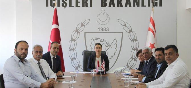 Kıbrıs Türk Belediyeler Birliği, Baybars ile görüştü