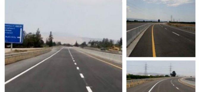 Yeni Güzelyurt-Doğancı yolu yarın trafiğe açılıyor