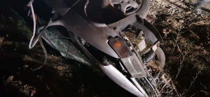 Yine hız, yine kaza: Yaralılar var