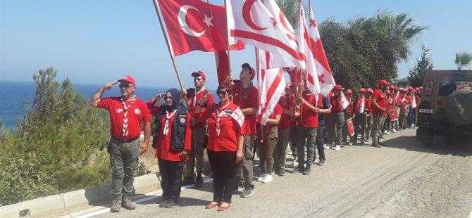 Erenköy Direnişi Milli bilinç ve şehitleri anma izci kampı, 4'üncü kez yapıldı
