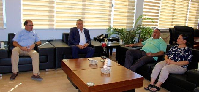 Arter, Çamlıkspor yetkililerini kabul etti