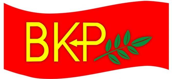 BKP hükümeti halkı rahatlatıcı tedbirler almaya çağırdı