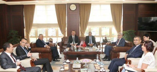 Ercan Sınay, TC Orman Genel Müdürü Karacabey İle görüştü