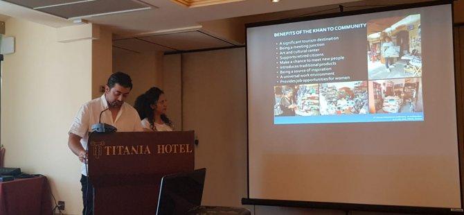 YDÜ, Atina Eğitim ve Araştırma Enstitüsü tarafından düzenlenen VIII. Yıllık-Uluslararası Mimarlık Konferansında temsil edildi.