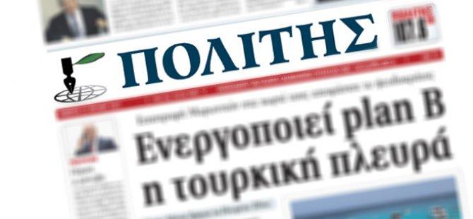 """Kıbrıslı Rumlar 63 olayları ile yüzleşiyor... Politis: Tseri"""" (Bilen) bölgesi civarında işlenen cinayetlerl yazdı:"""
