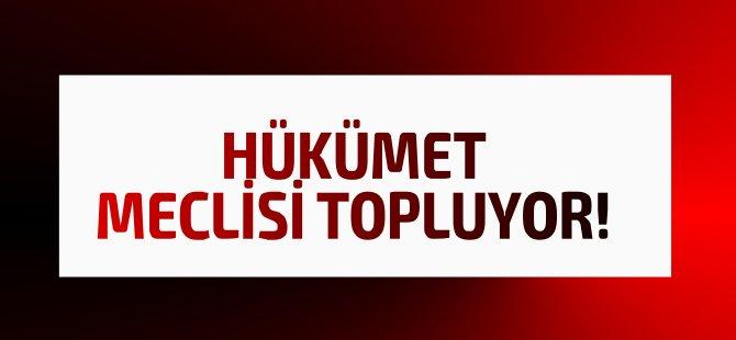Hükümet bu hafta Cumhuriyet Meclisi'ni Olağanüstü topluyor