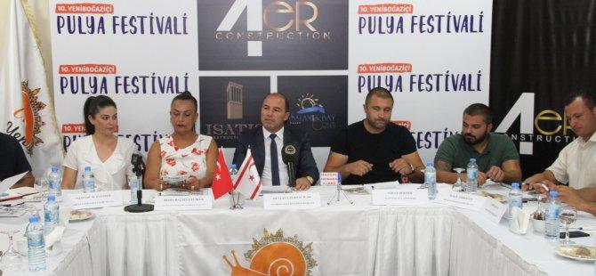 Yeniboğaziçi Pulya Festivali başlıyor