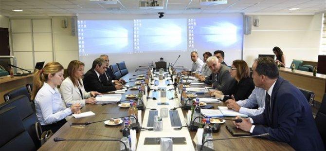Tarım Ve Doğal Kaynaklar Bakanlığı heyeti, Ankara'da temaslarda bulundu