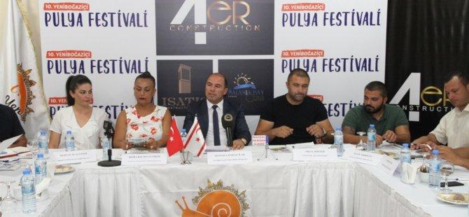 10. Yeniboğaziçi Pulya Festivali Cuma günü başlıyor