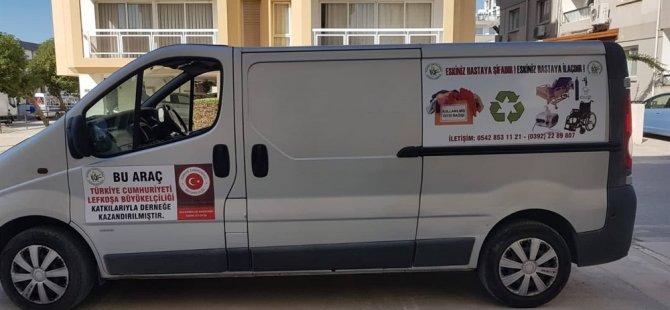 TC Büyükelçiliği'nden Kanser Hastalarına Yardım Derneği'ne Araç Bağışı