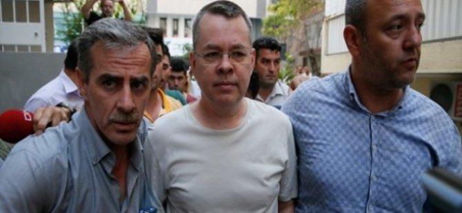 'Brunson, 12 Ekim'de serbest bırakılabilir' iddiası