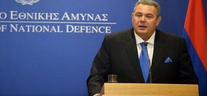 Yunan Savunma Bakanı Kammenos'tan mevkidaşı Akar'a davet