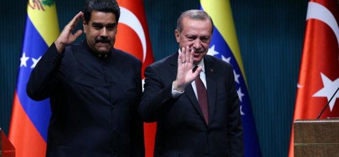 ABD^den Türkiye'ye Venezuella tehditi