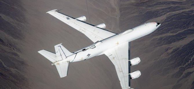 ABD casus uçağı Kıbrıs semalarında