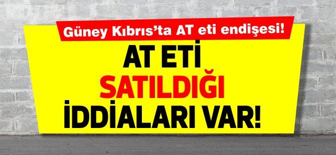 Güney Kıbrıs'ta  'atlar kesilip etleri satılıyor'
