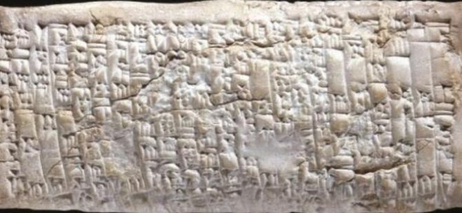 3800 yıllık tablet: Tarihin bilinen ilk tüketici şikayeti mektubu