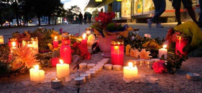 Almanya'da cinayet sonrasında protesto düzenlendi