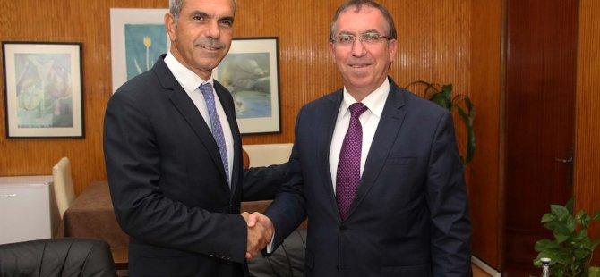 Uluçay, Ankara Büyükelçisi Köprülü'yü kabul etti