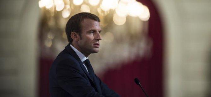 Macron: Güvenlik için sırtımızı artık ABD'ye dayayamayız