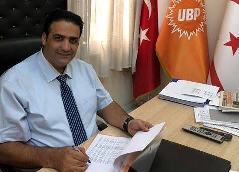 Gardiyanoğlu UBP Lefkoşa İlçe Başkanlığı'na yeniden aday