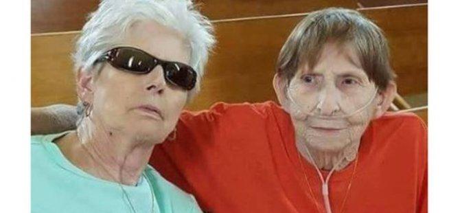 Ölen eşiyle resmi nikah kıydı