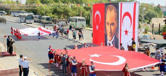 """Sayın: """"30 Ağustos zaferi türk dünyasını aydınlatan sönmeyen güneştir"""""""