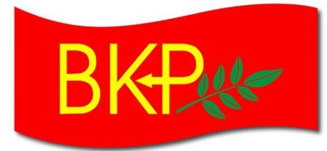 """BKP: """"Tüm dünya ve ülkemiz, barışa her zamankinden daha çok ihtiyaç duyuyor"""""""
