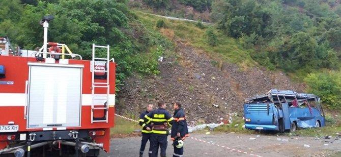 Bulgaristan'da 17 kişinin öldüğü trafik kazasının ardından 3 bakan istifa etti