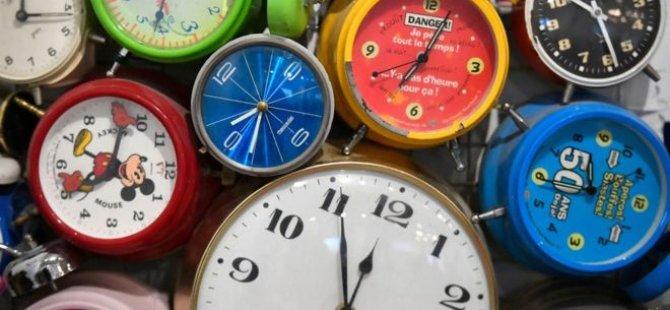 AB: Yaz saati-kış saati uygulamasını kaldıracağız