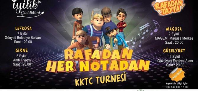 """""""Rafadan Tayfa"""" KKTC Turnesinde"""