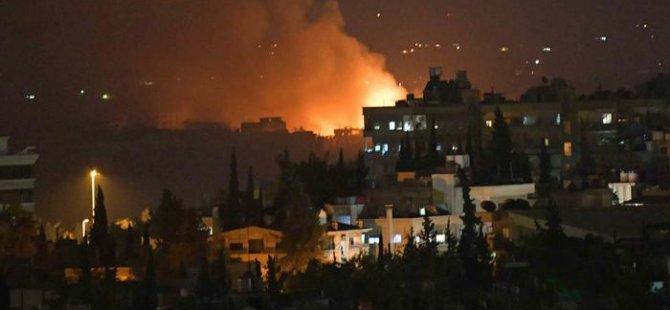Suriye'de askeri havaalanında patlama